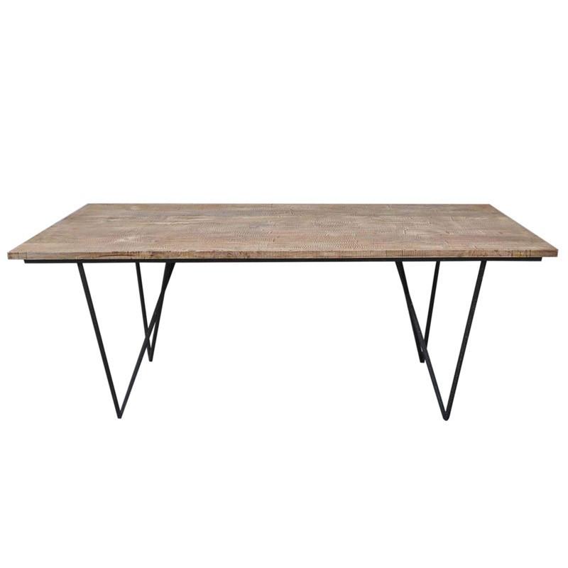 Table de repas en bois - FACTORY
