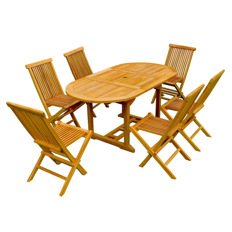 Ensemble table et chaises de jardin d coration de maison for Ensemble chaise table jardin