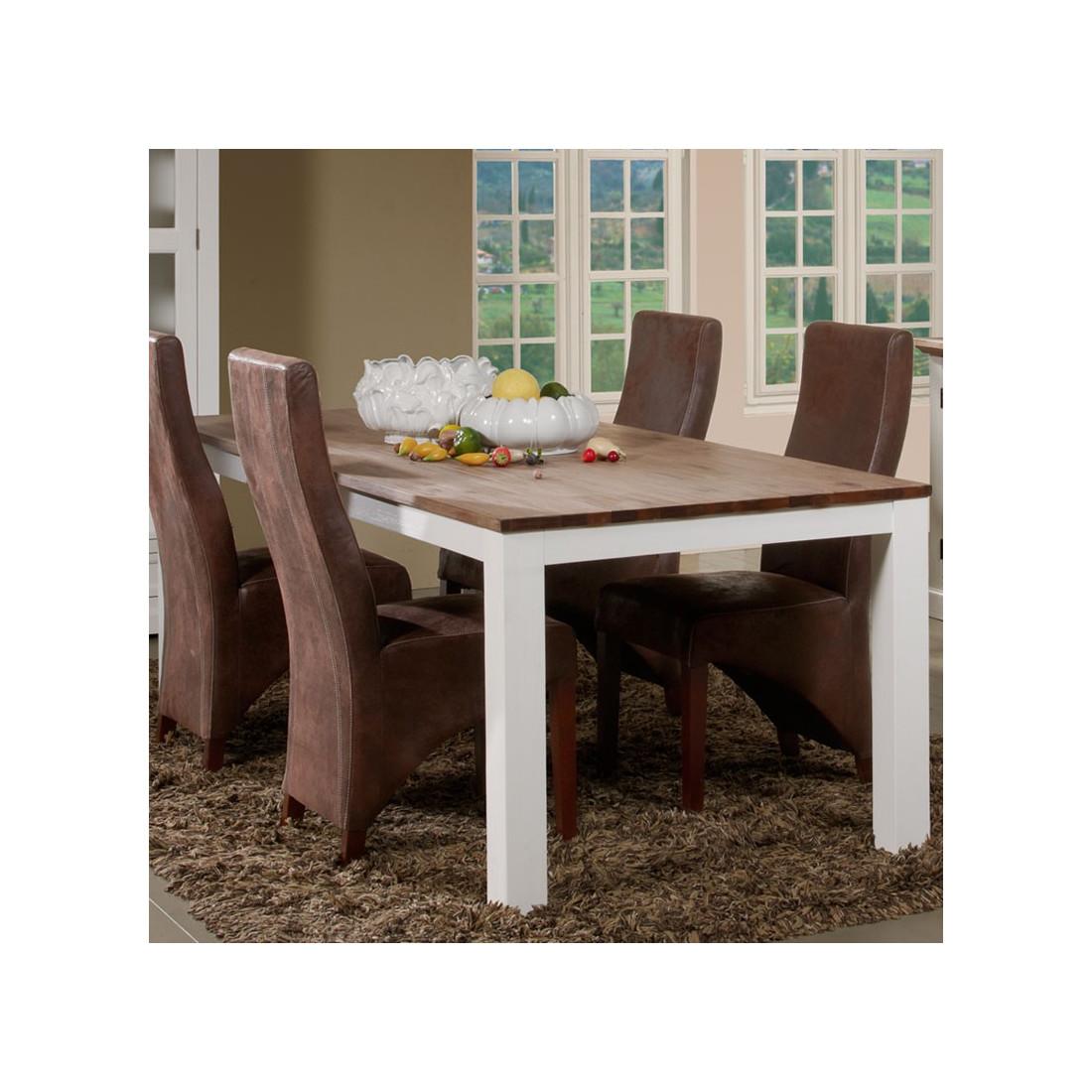 Table de repas 220 cm rio univers salle manger for Table de salle a manger 220 cm