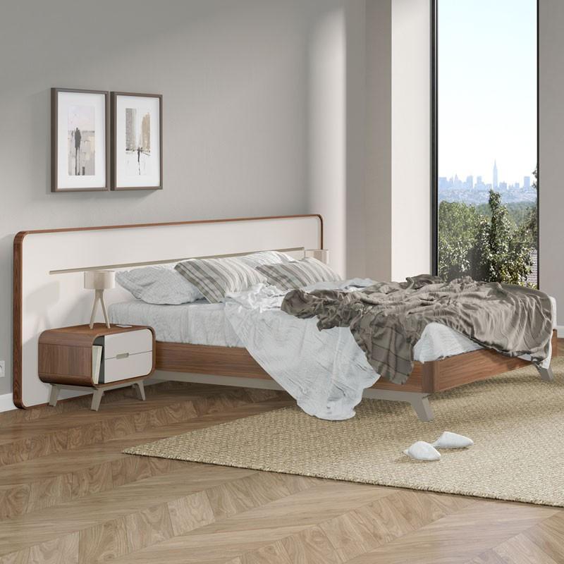 Cadre de lit + Tête de lit - FIFTY