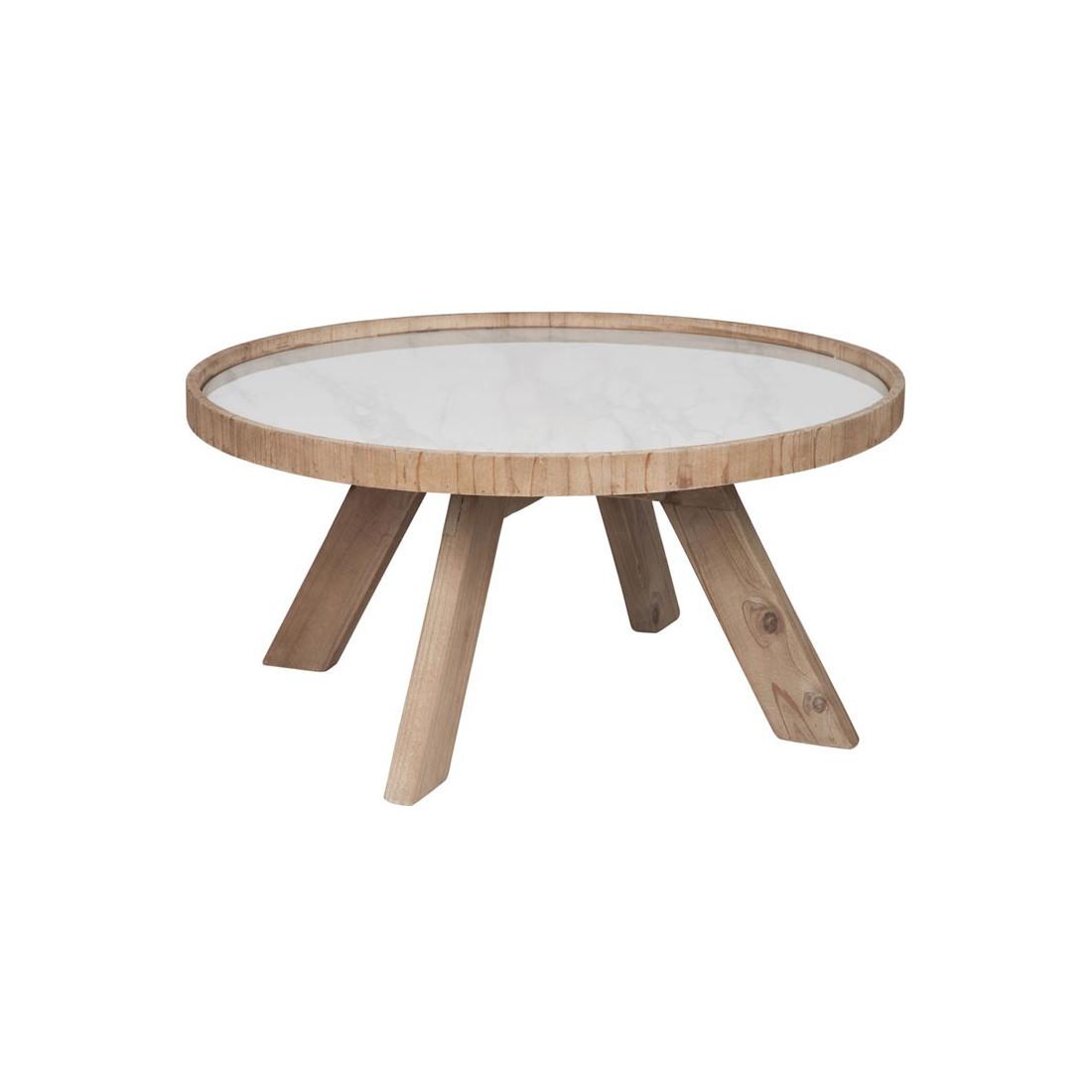table basse ronde bois et c ramique marbre marble univers salon. Black Bedroom Furniture Sets. Home Design Ideas