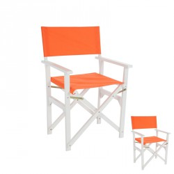 Duo de chaises pliantes Orange - GIPSY