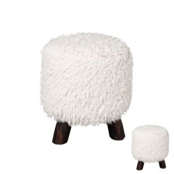 Duo de tabourets ronds - SHEEP
