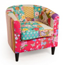 Fauteuil Bridge Patchwork - CATHY
