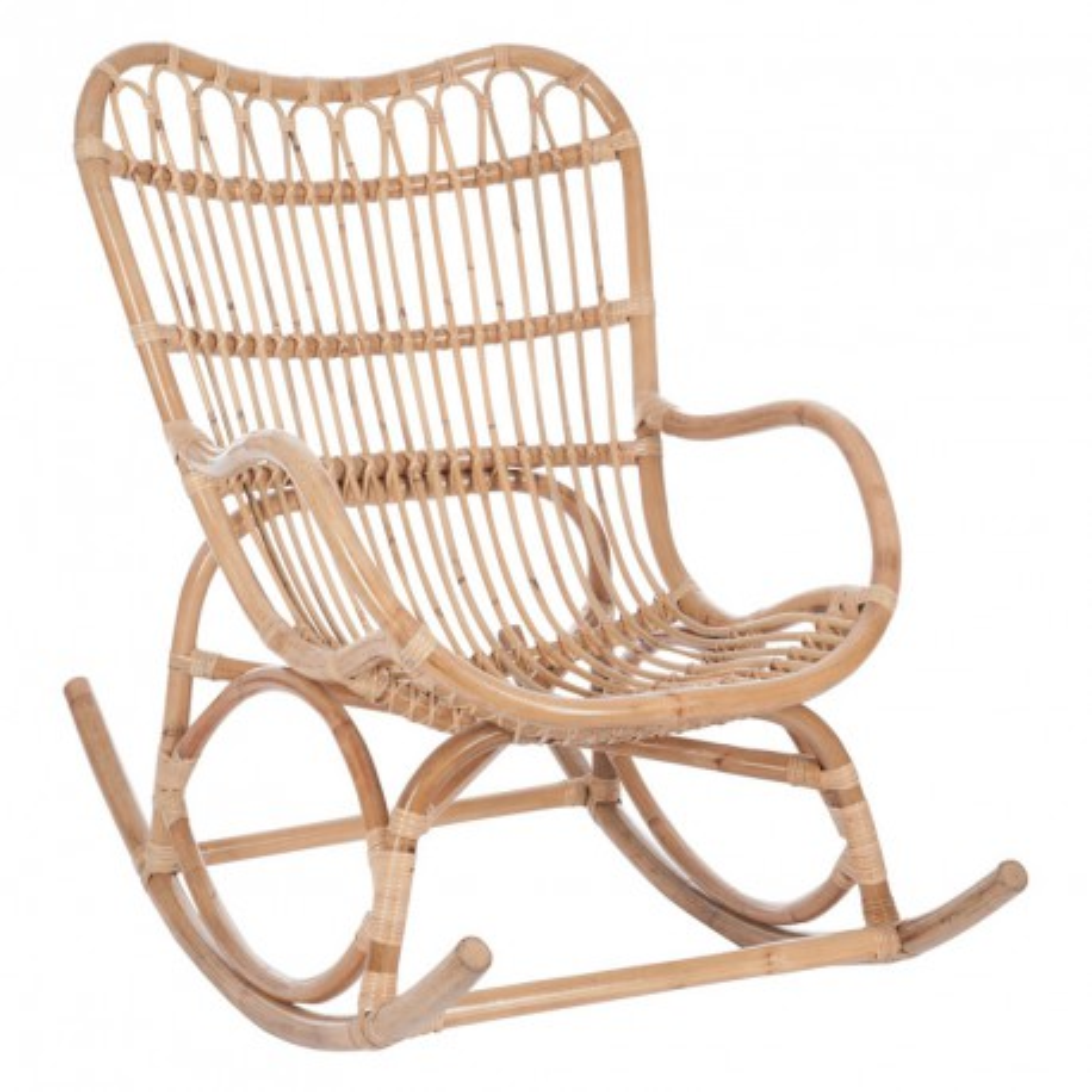 Rocking Chair Bois naturel - Univers Salon et Assises : Tousmesmeubles