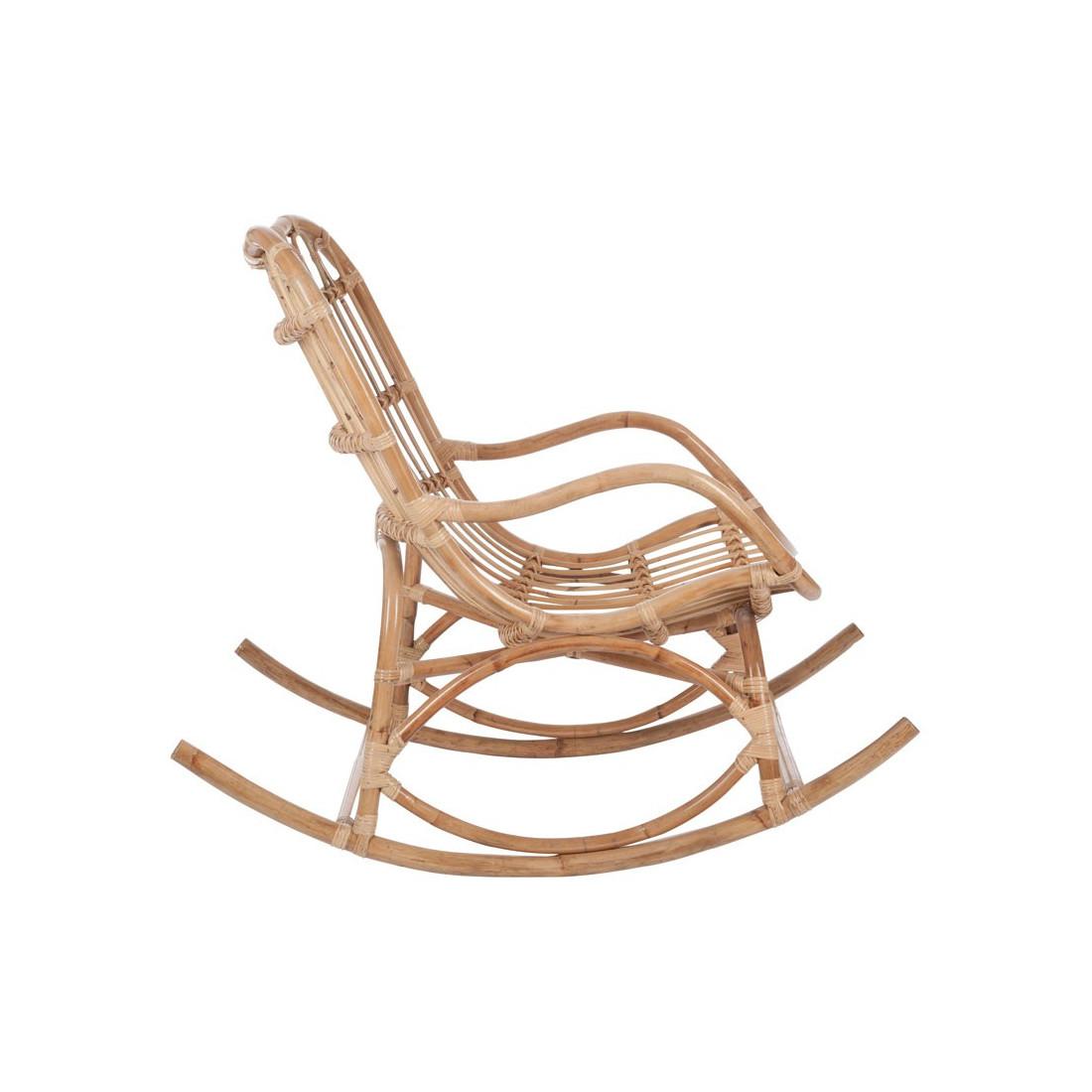 rocking chair bois rotin naturel ricky univers assises et salon. Black Bedroom Furniture Sets. Home Design Ideas