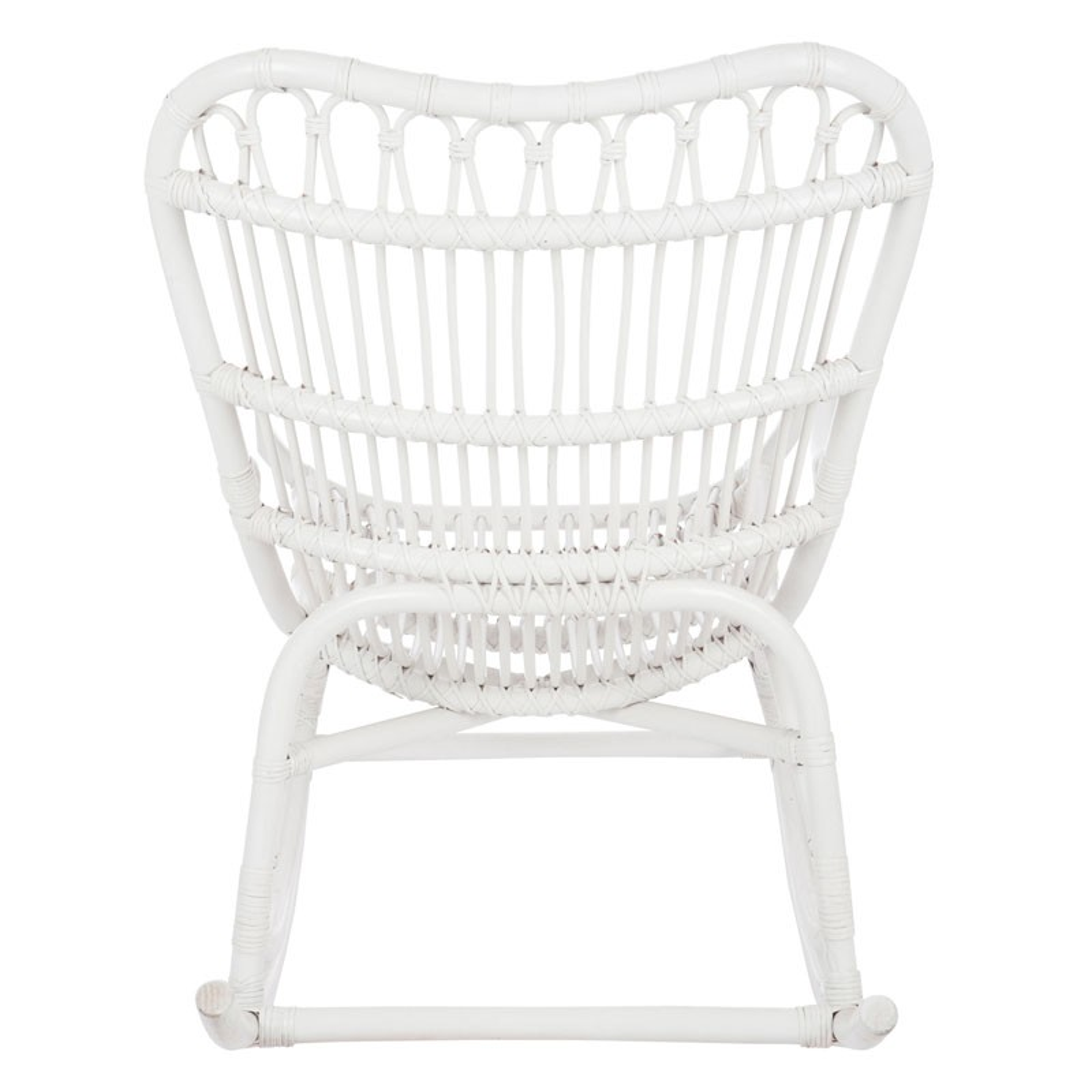 rocking chair en rotin blanc rotin marron clair et blanc l vrifier la with rocking chair en. Black Bedroom Furniture Sets. Home Design Ideas