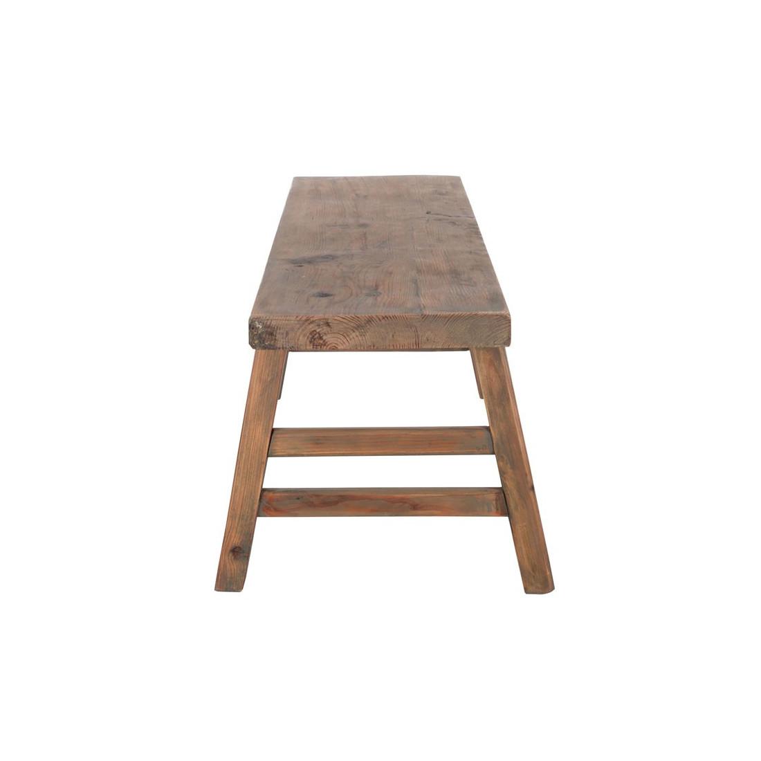 Banc bois prairie univers assises et salle manger for Prix banc en bois