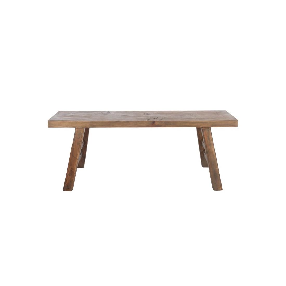 banc bois massif banc avec dossier pour salle a manger banc jardin bois pince banc bois. Black Bedroom Furniture Sets. Home Design Ideas