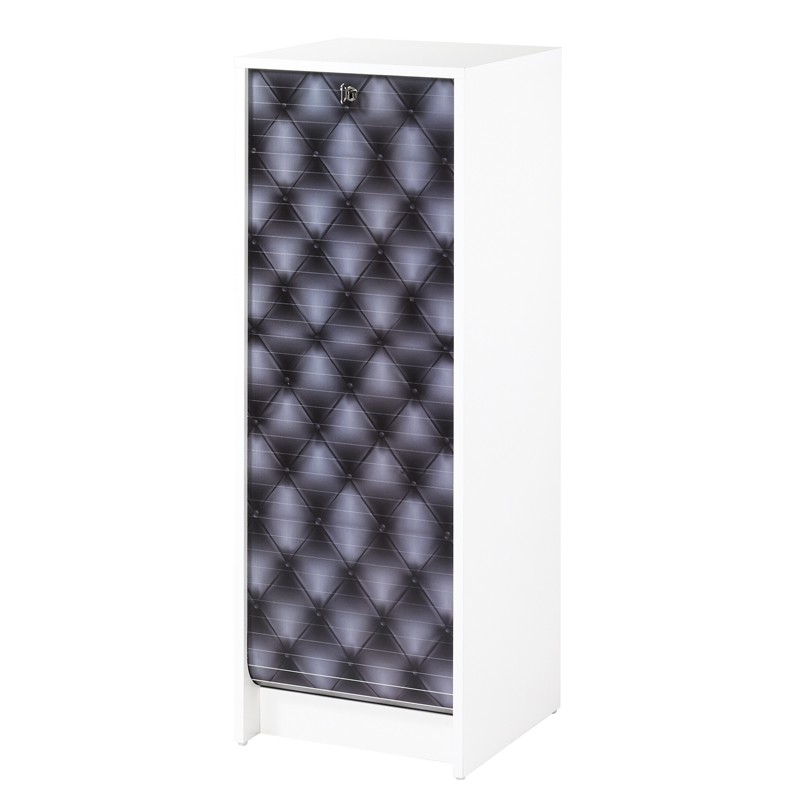 classeur rideaux blanc num rique bleu curtain n 6. Black Bedroom Furniture Sets. Home Design Ideas