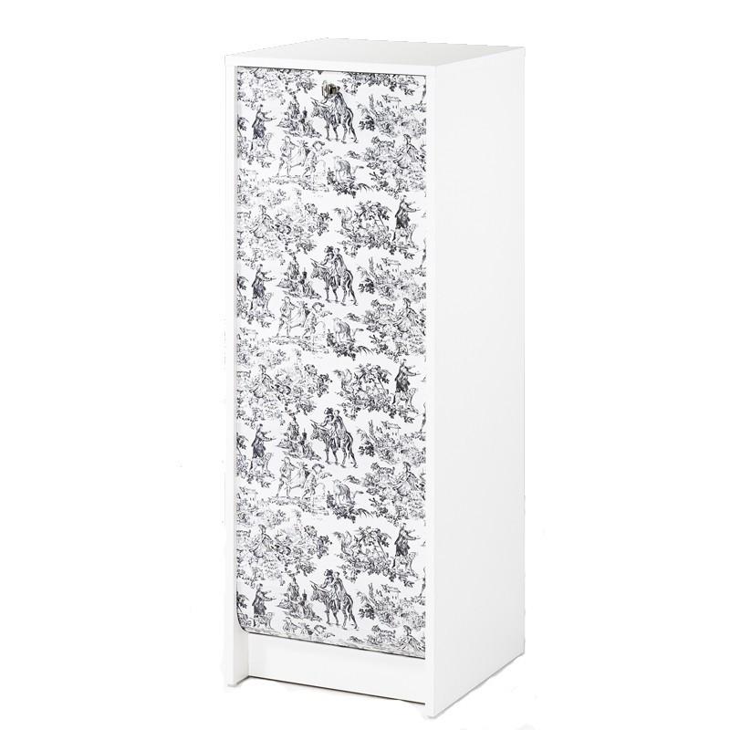 Classeur à rideaux Blanc - CURTAIN n°8