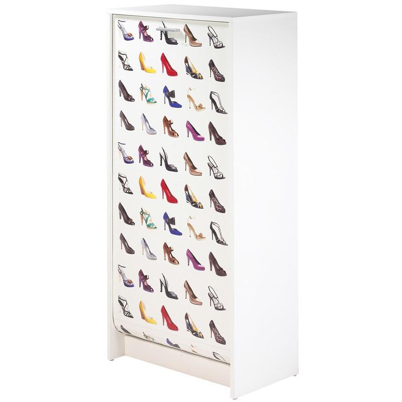 Meuble à chaussures 21 paires bois - Univers Petits Meubles : Tousmesmeubles