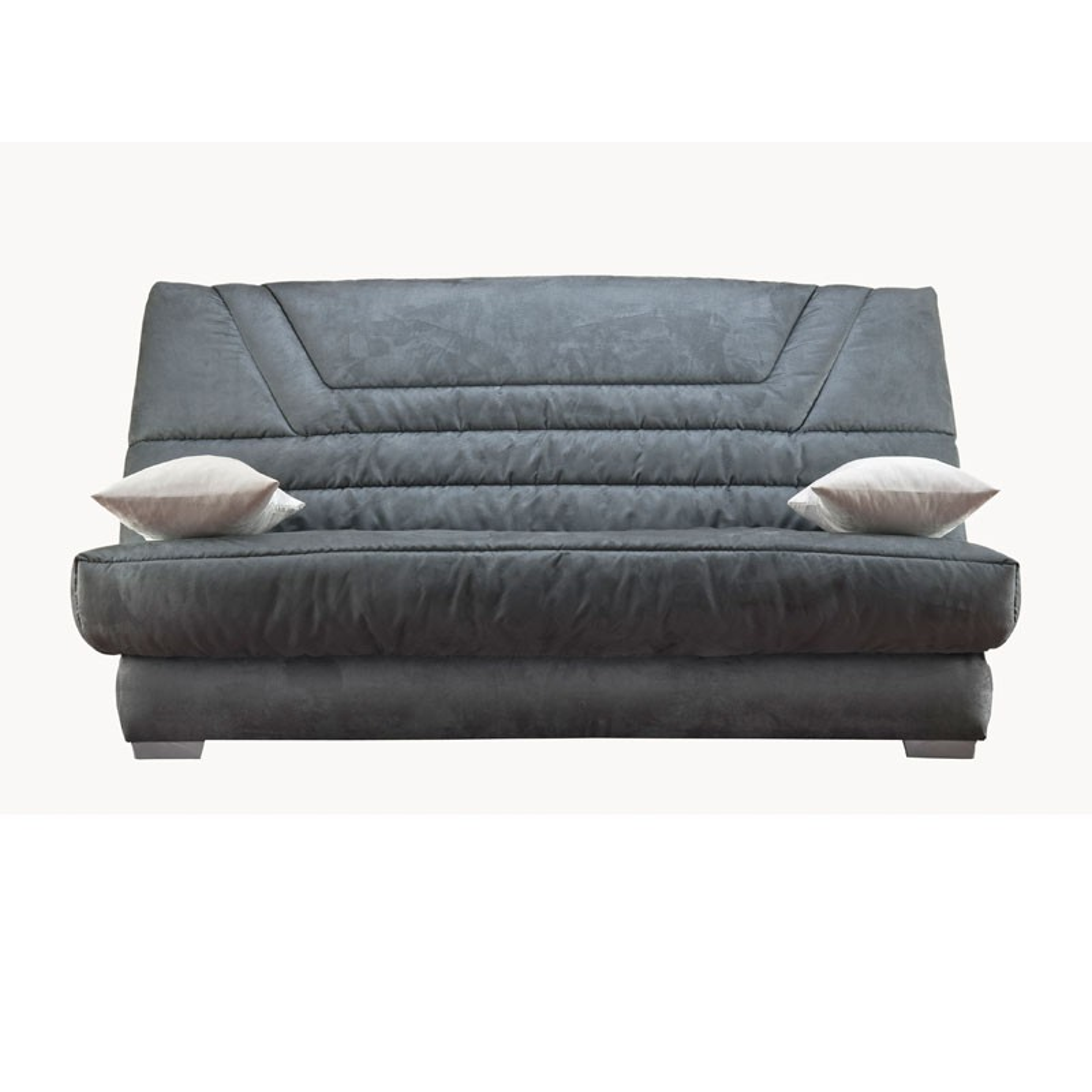 banquette lit clic clac tisgris matelas bultex 140 cm speed bria n 2. Black Bedroom Furniture Sets. Home Design Ideas