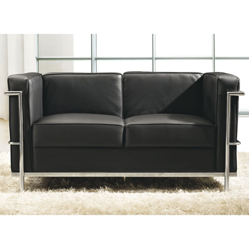 canap cuir 2 places simple canape club convertible places canape club angle comment recouvrir. Black Bedroom Furniture Sets. Home Design Ideas