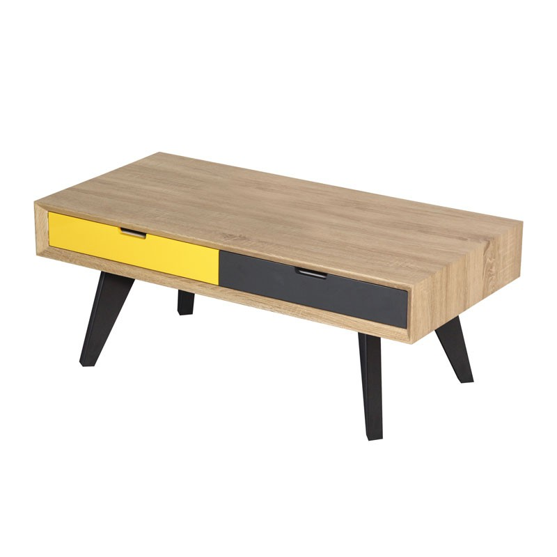 Tiroir guide d 39 achat - Table basse multicolore ...
