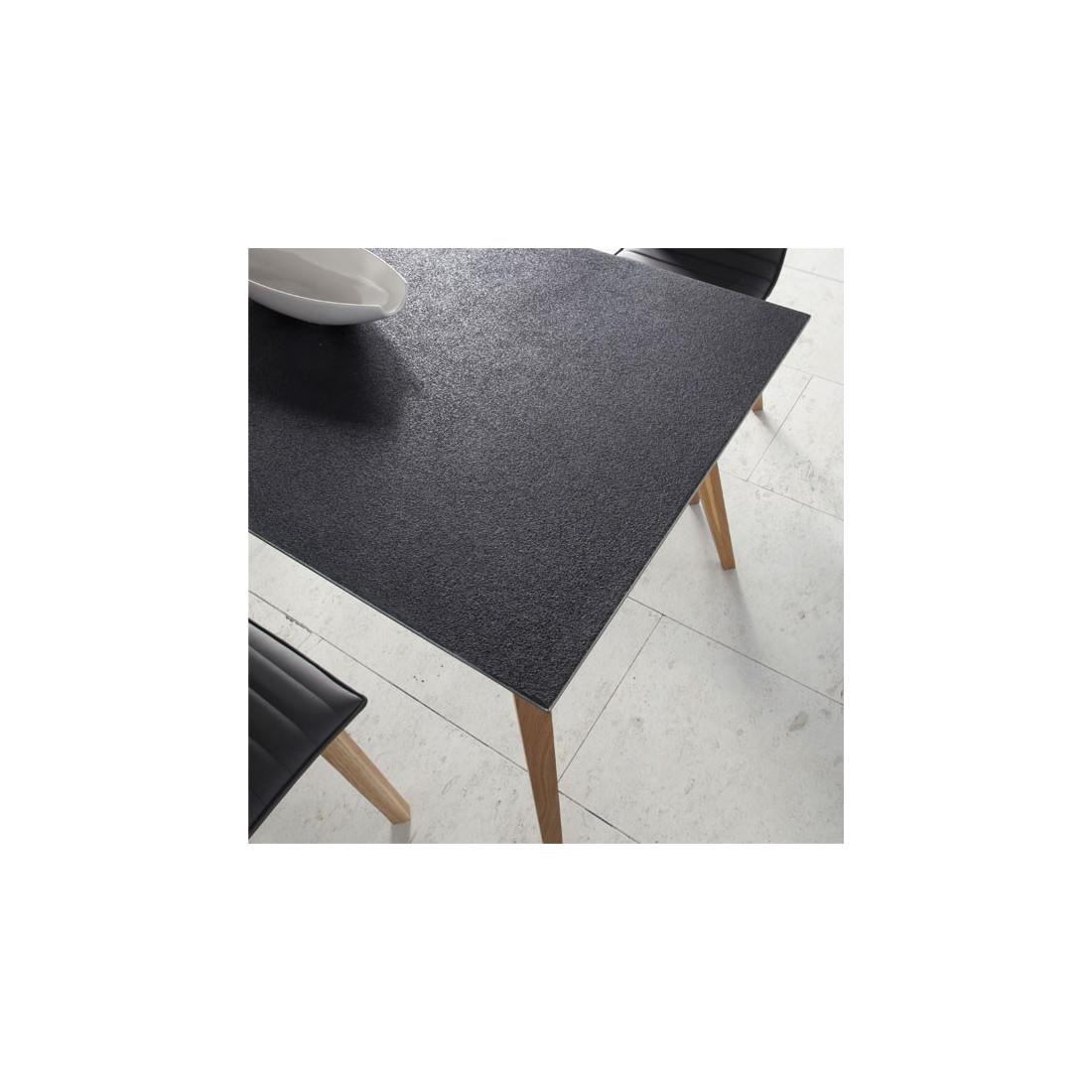 table de repas plateau imitation pierre pierra univers salle manger. Black Bedroom Furniture Sets. Home Design Ideas