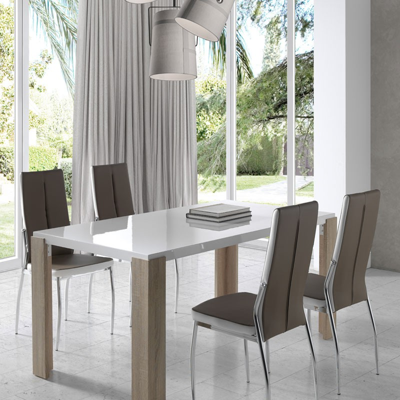 Salle Manger Bois Blanc. Salle Manger Bois Blanc With Salle Manger ...