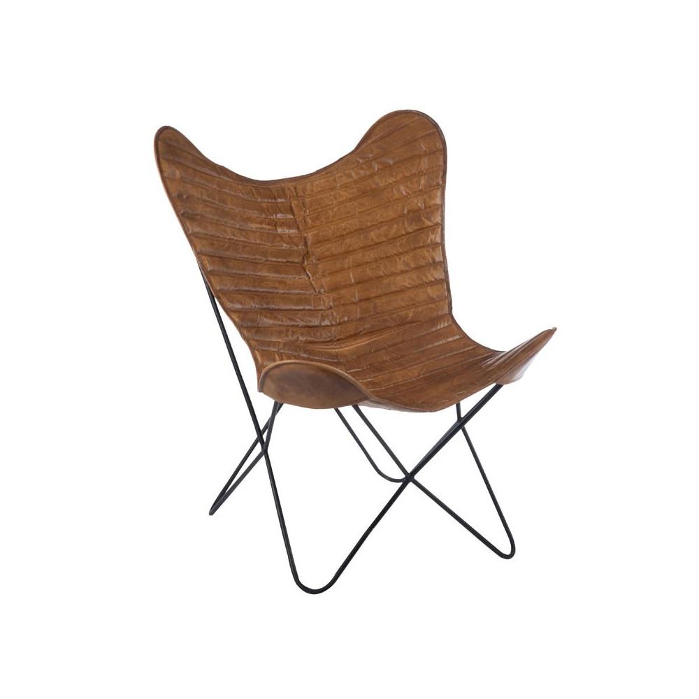 Chaise Lounge marron - HOHA