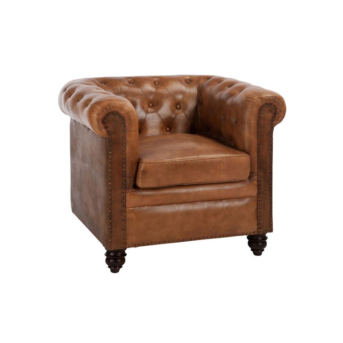 fauteuil chesterfield cuir fieldman univers du salon et chesterfield. Black Bedroom Furniture Sets. Home Design Ideas