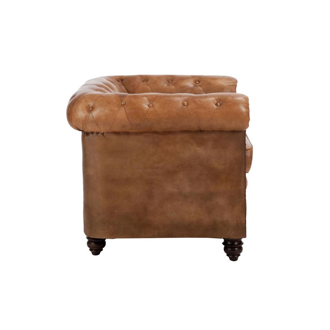 fauteuil chesterfield cuir fieldman univers du salon et. Black Bedroom Furniture Sets. Home Design Ideas