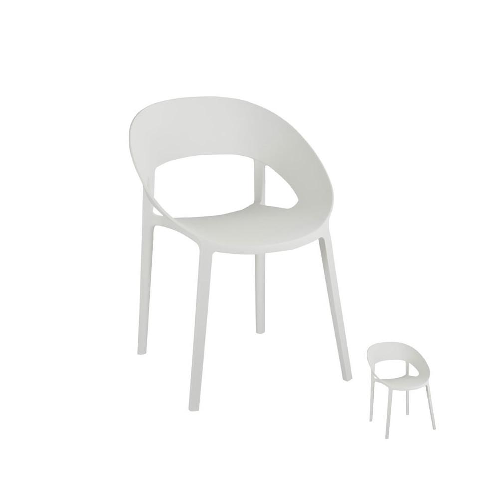 Duo de chaises Blanches - ALOA