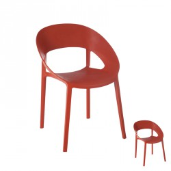 Duo de chaises Orange - ALOA