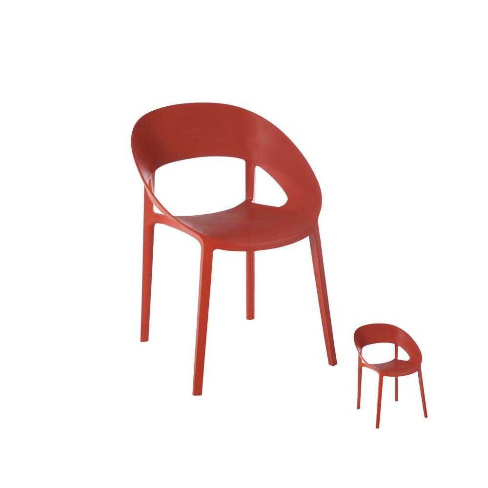 Duo de chaises Orange - ALOA