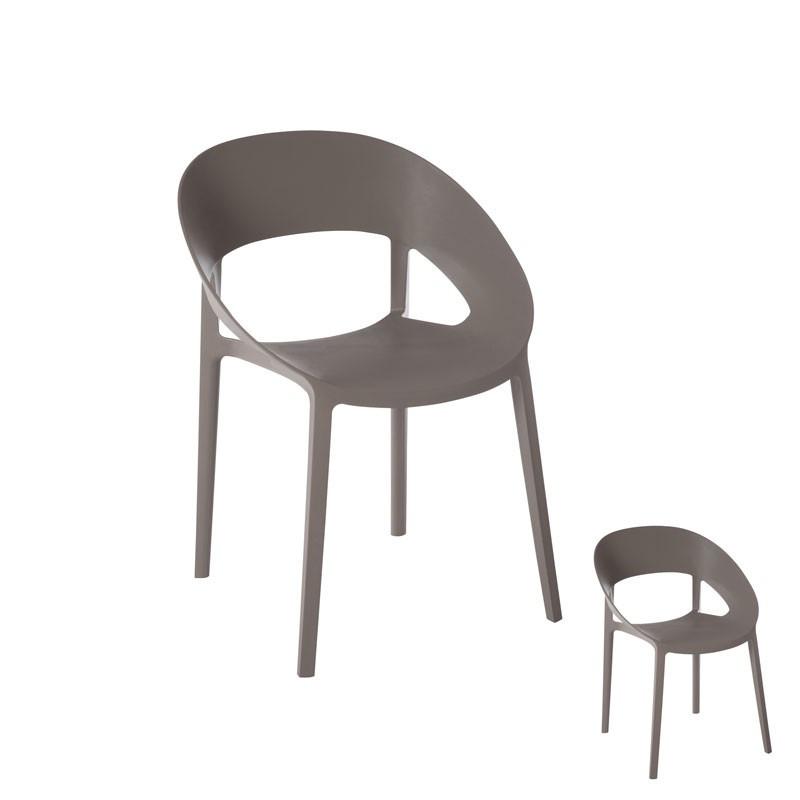 Duo de chaises Gris - ALOA