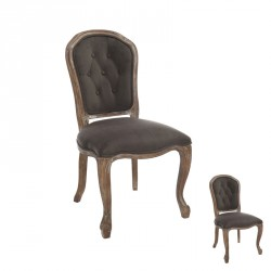 Duo de Chaises  Marron - TONEINS