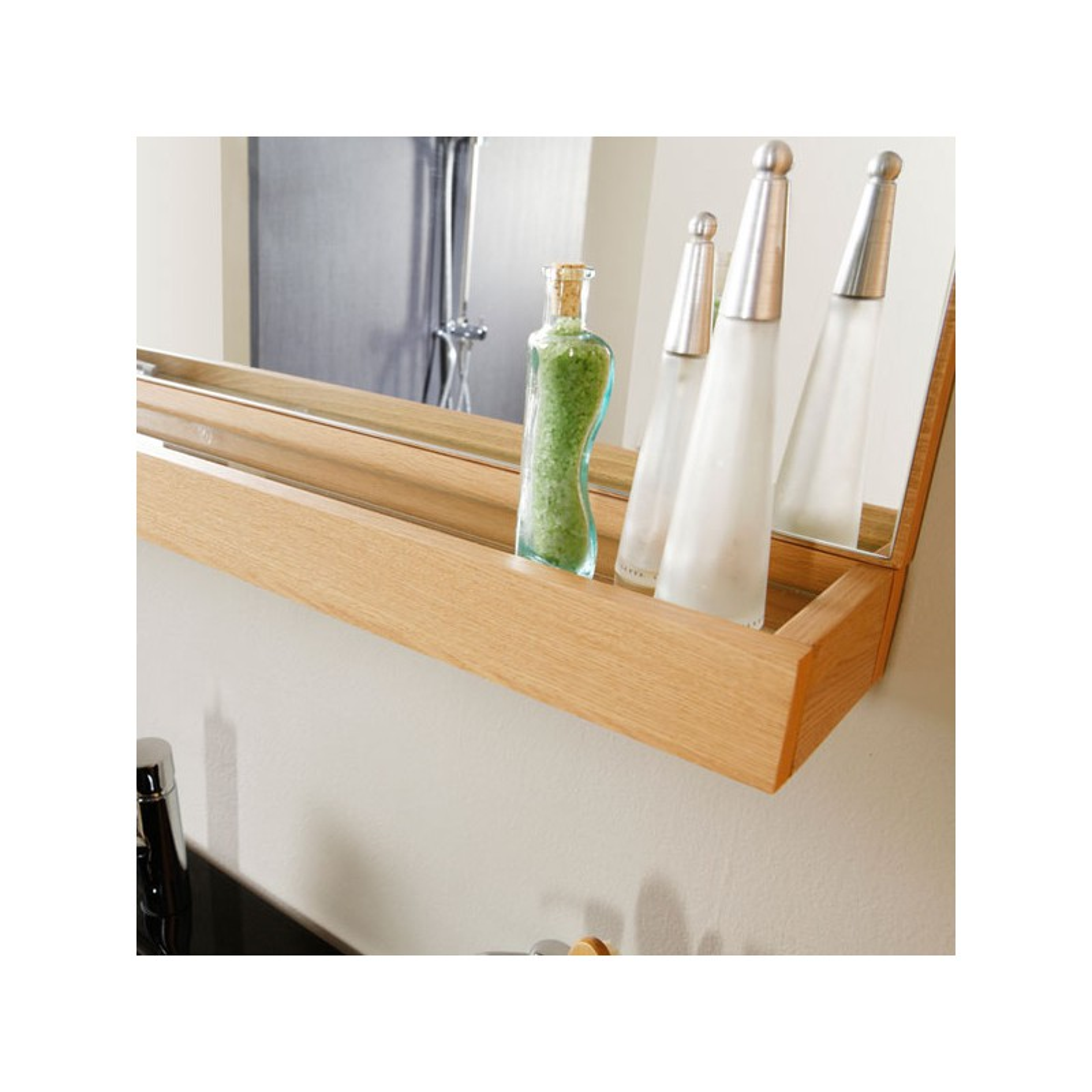 Colonne salle de bain chene clair trendy meuble salle de bain d motion l cm with colonne salle for Meuble salle de bain calao