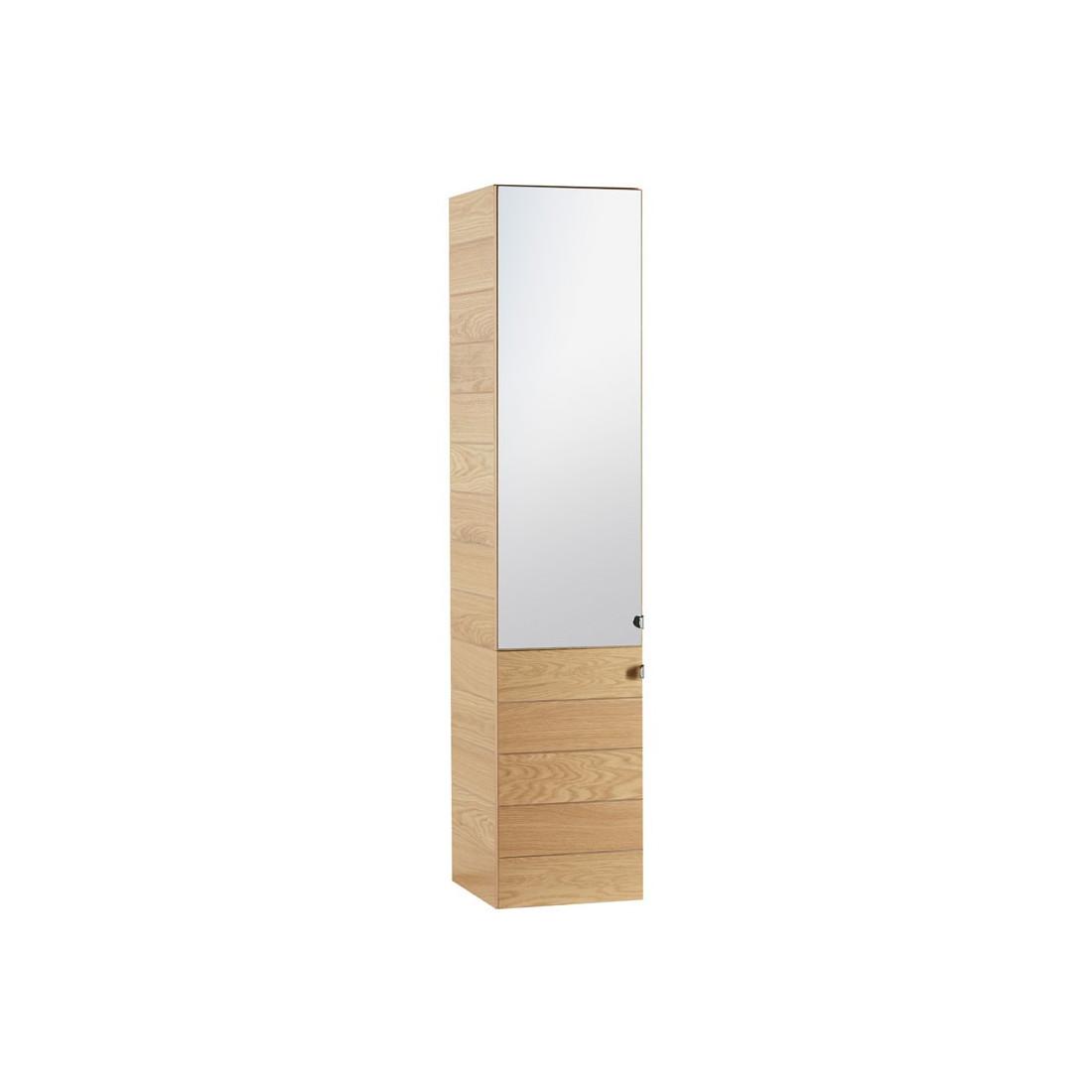 Meuble vasque miroir colonne hera univers de la salle for Meuble salle de bain complet