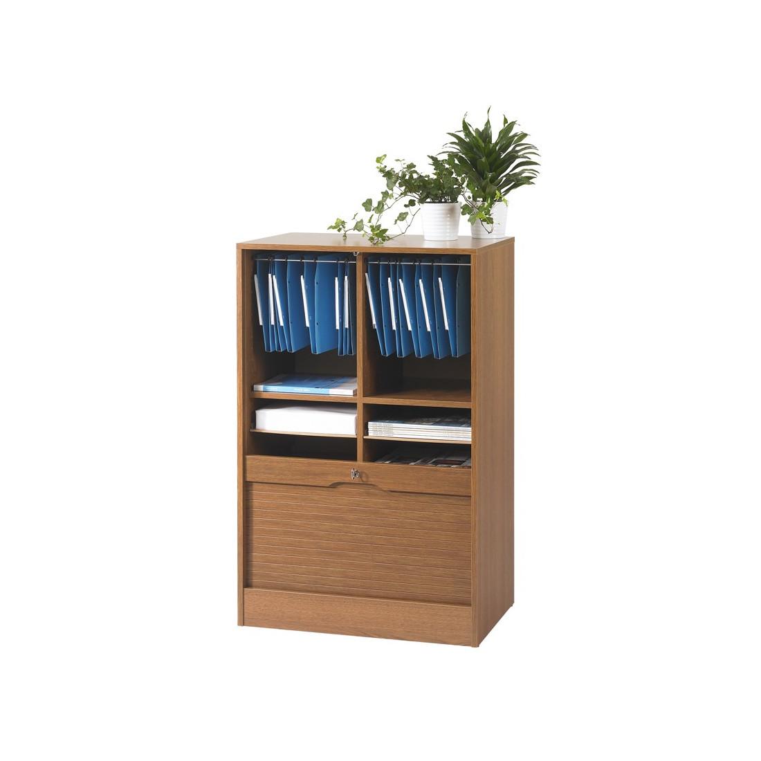 classeur double rideau ch ne rustique m klass univers du bureau. Black Bedroom Furniture Sets. Home Design Ideas
