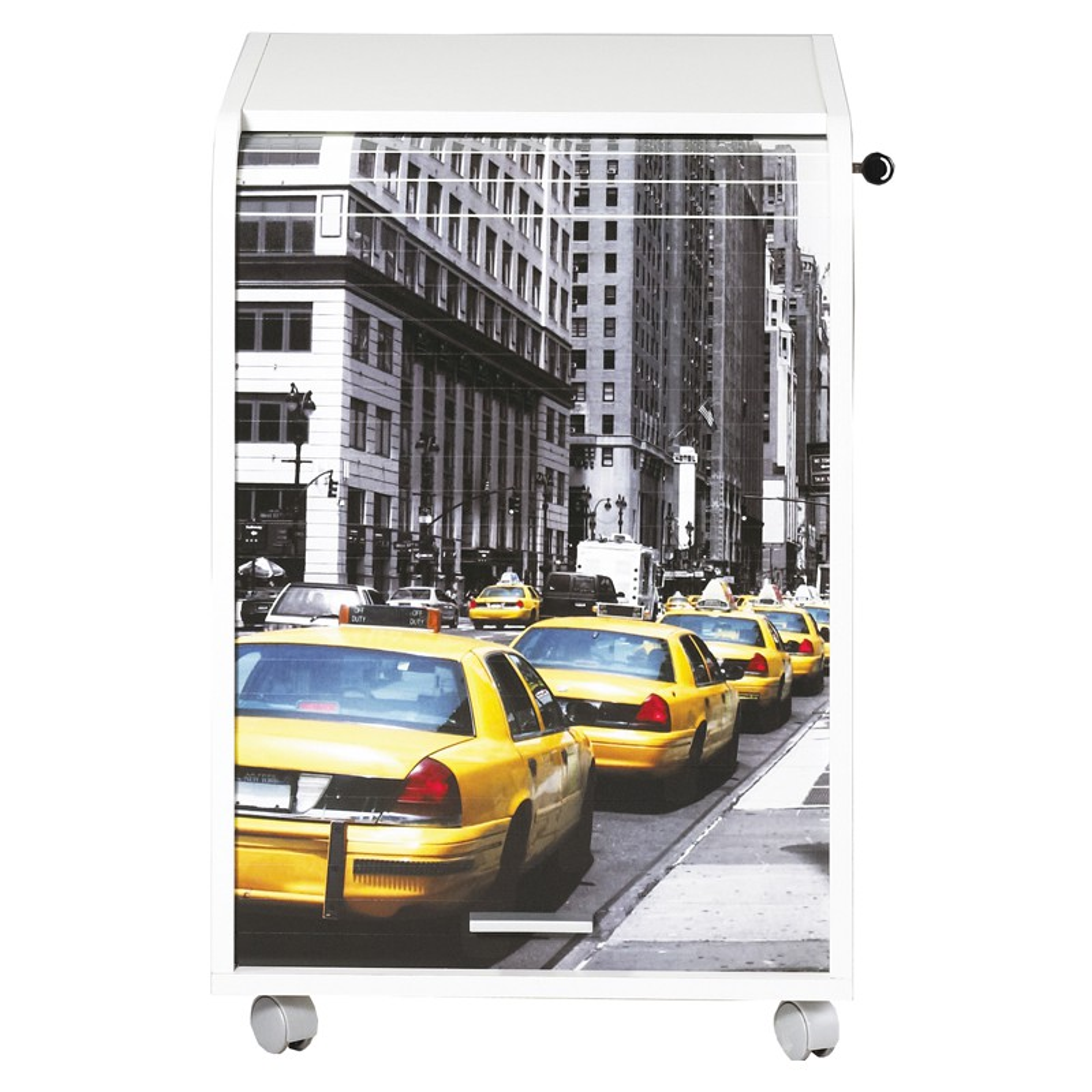 caisson blanc roulettes rideau n 3 taille s carou univers du bureau. Black Bedroom Furniture Sets. Home Design Ideas