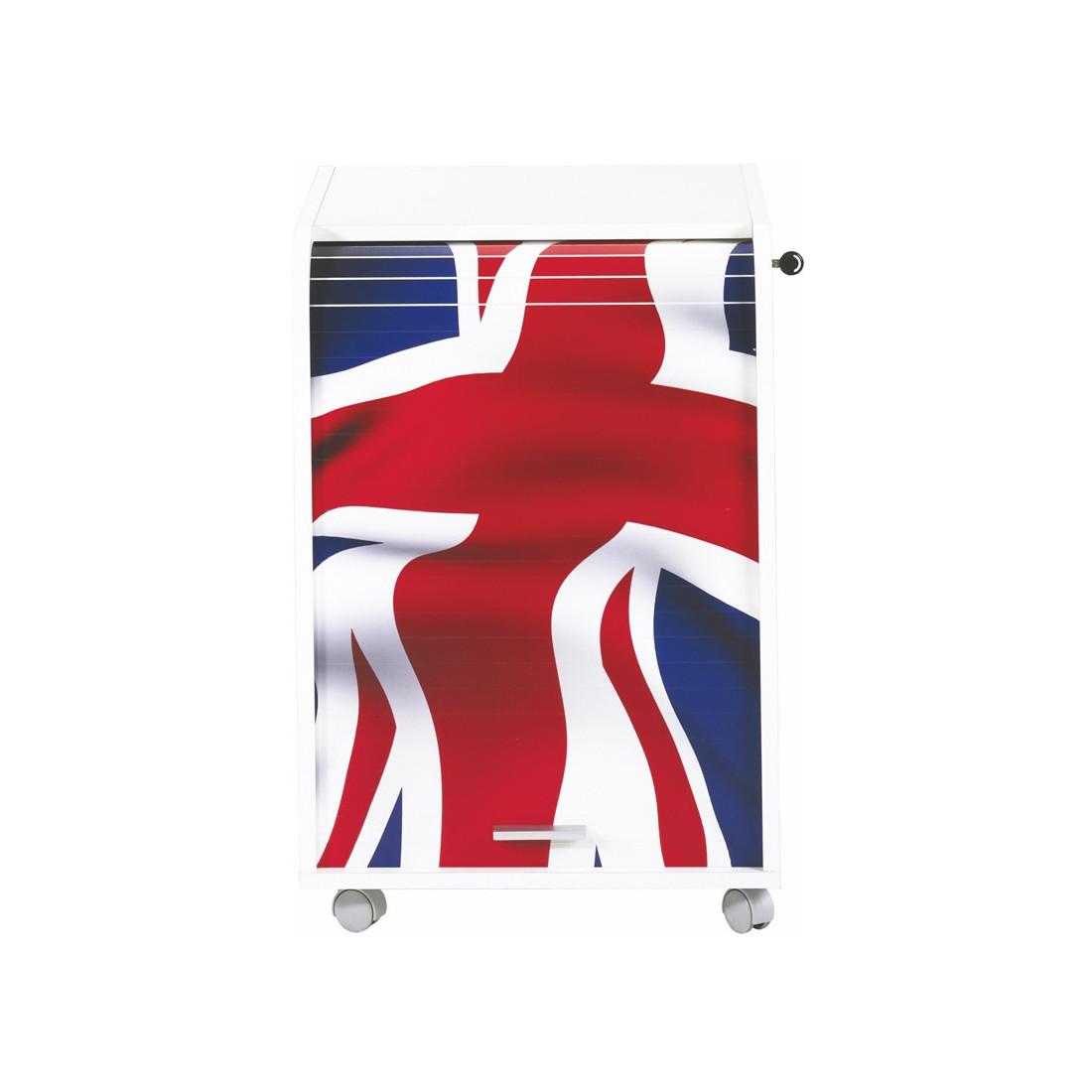 caisson blanc roulettes rideau n 6 taille s carou univers du bureau. Black Bedroom Furniture Sets. Home Design Ideas