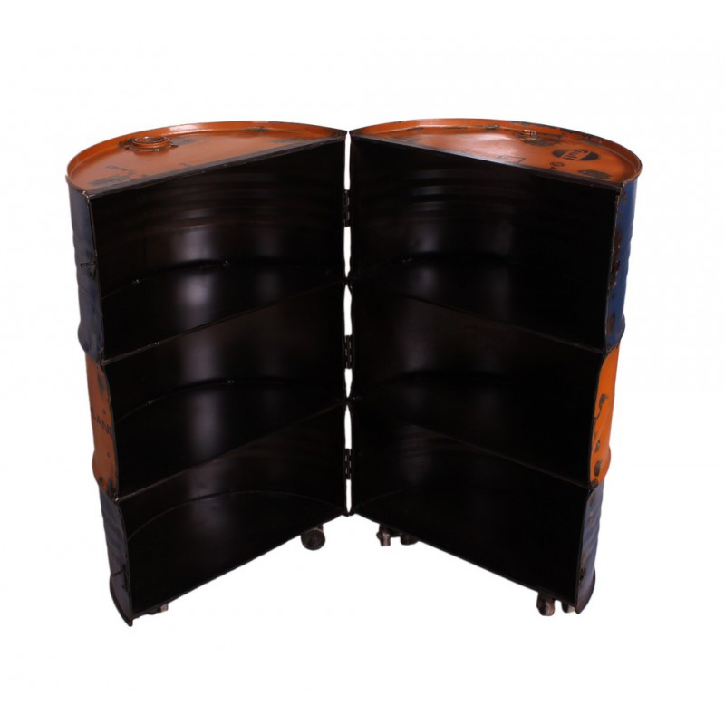 meuble bar sur roulettes tank univers salon. Black Bedroom Furniture Sets. Home Design Ideas