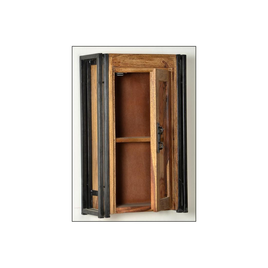 meuble suspendre 1 porte vitr e ipanema univers. Black Bedroom Furniture Sets. Home Design Ideas
