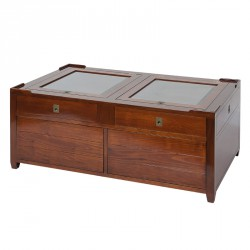 Table basse en bois - MAGELLAN