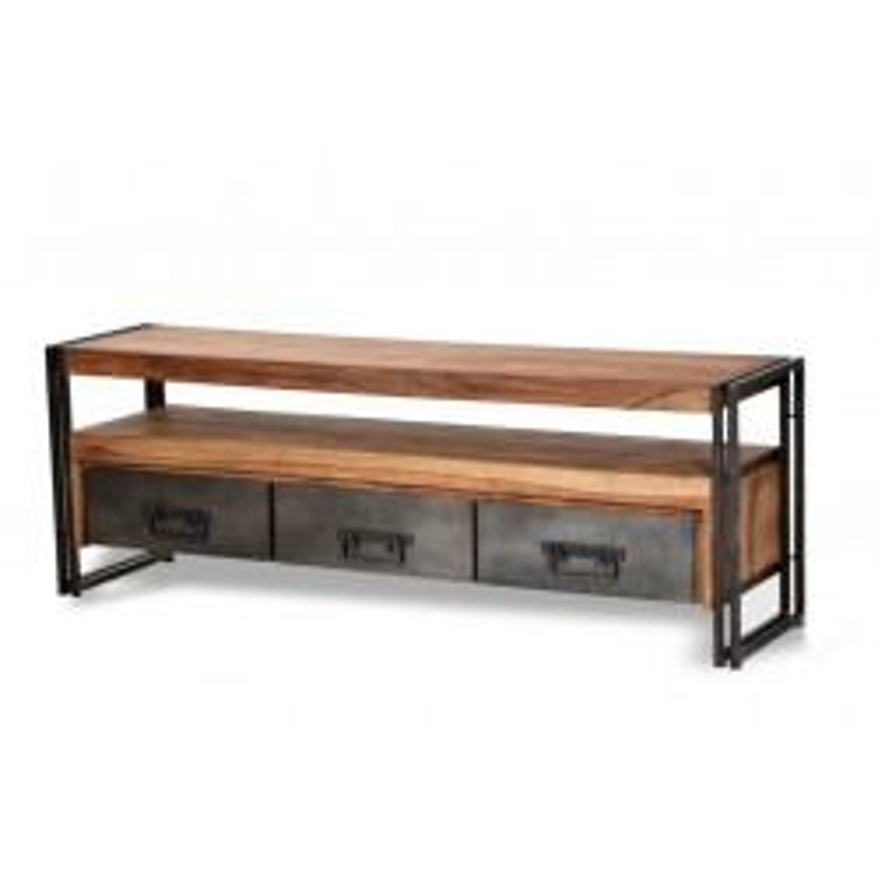 Meuble TV 3 tiroirs, 1 niche - IPANEMA