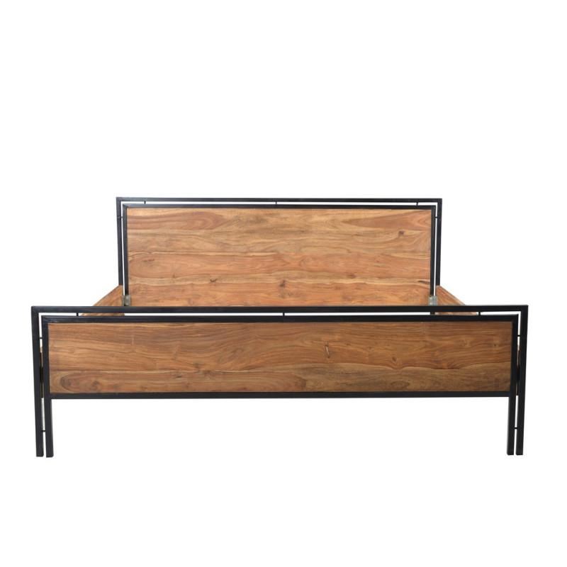 Bois de lit pour matelas 180 x 200 cm - IPANEMA