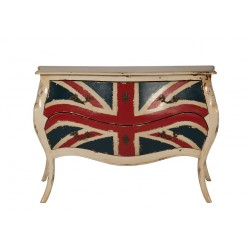 Commode 2 tiroirs Union Jack - PADOUR