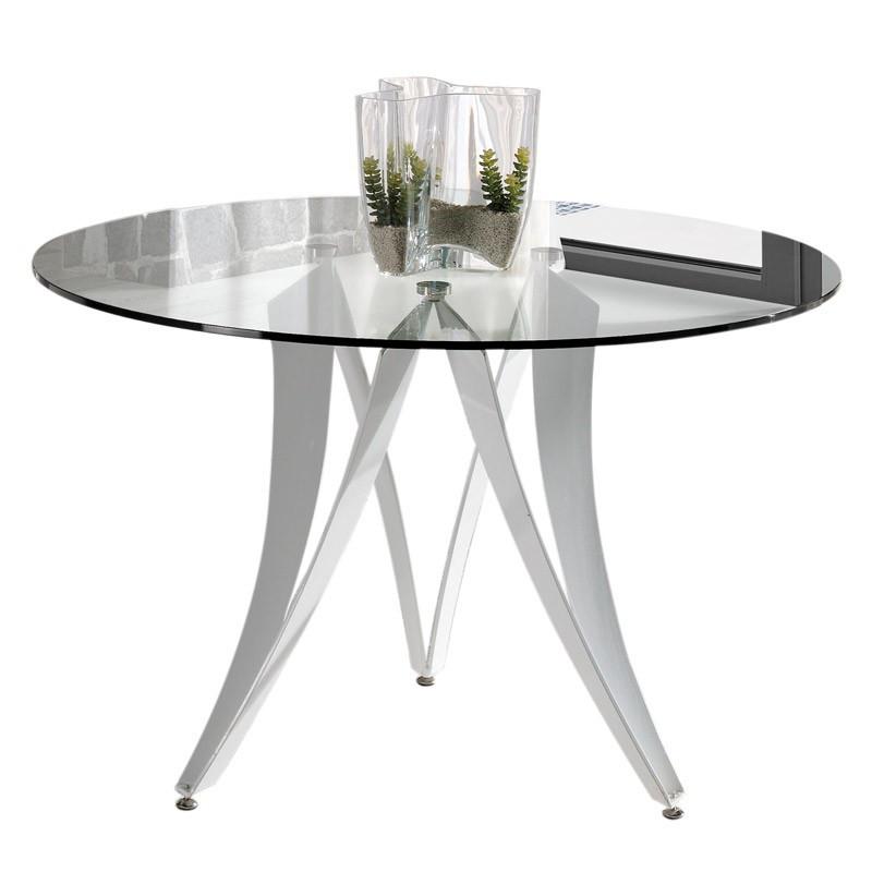 Table de repas ronde Verre - AKNO