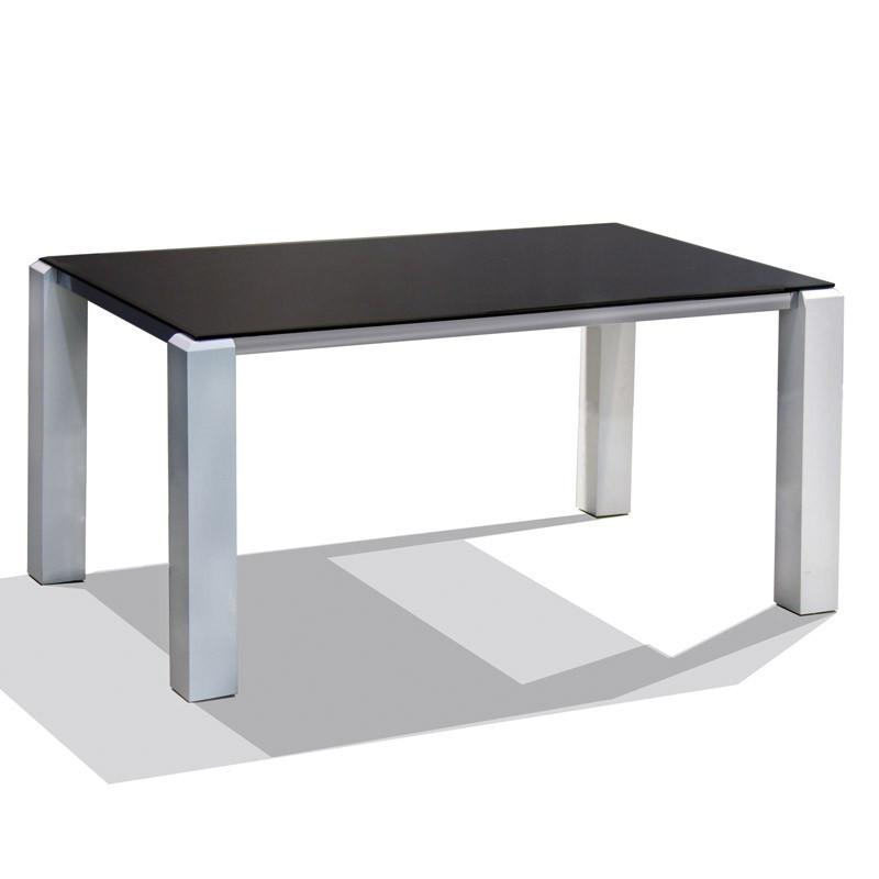 Table de repas Blanc/Noir - DURANGO