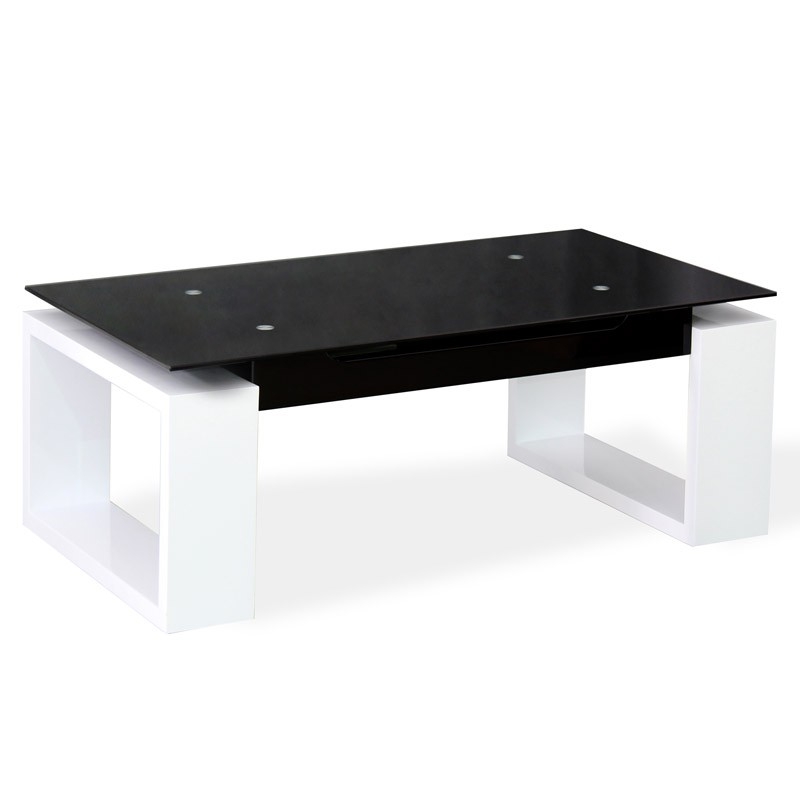 Table basse salon plateau verre for Table basse en verre ikea