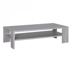 Table basse Gris clair bois moderne PAPEETE - Univers Salon : Tousmesmeubles