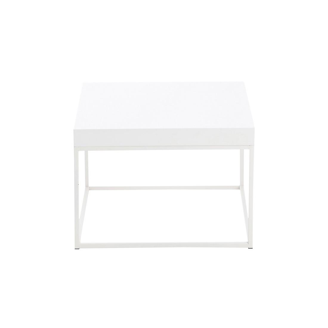 Table Basse Blanche Taille M Witea Univers Du Salon