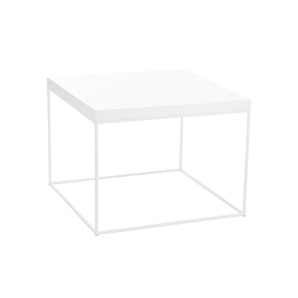 table basse blanche taille l witea univers du salon. Black Bedroom Furniture Sets. Home Design Ideas