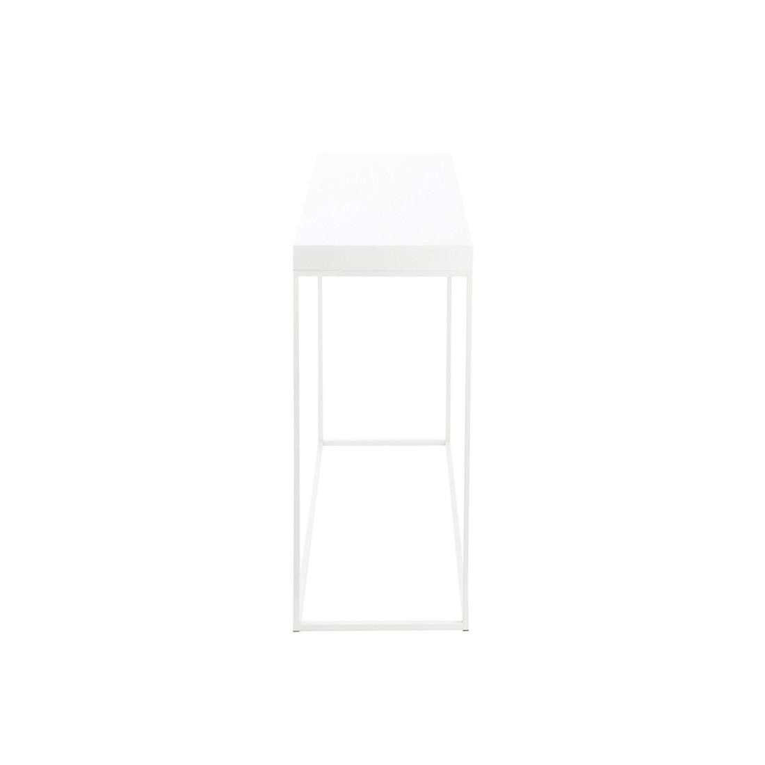 console blanche des consoles de tous les styles et pour. Black Bedroom Furniture Sets. Home Design Ideas