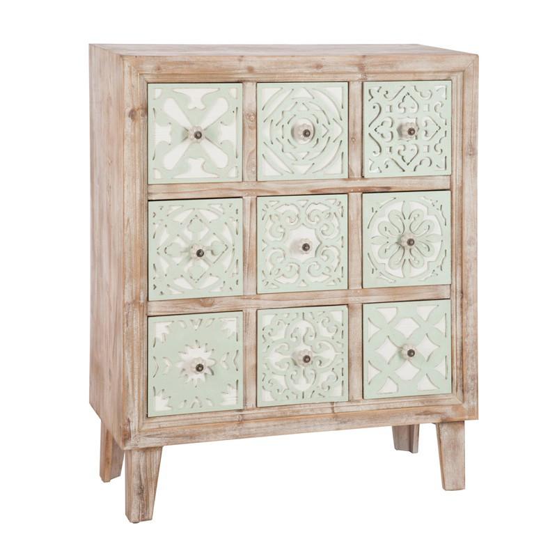 Commode Orientale 9 tiroirs - Univers de la Chambre et Commodes et Petits meubles : Tousmesmeubles