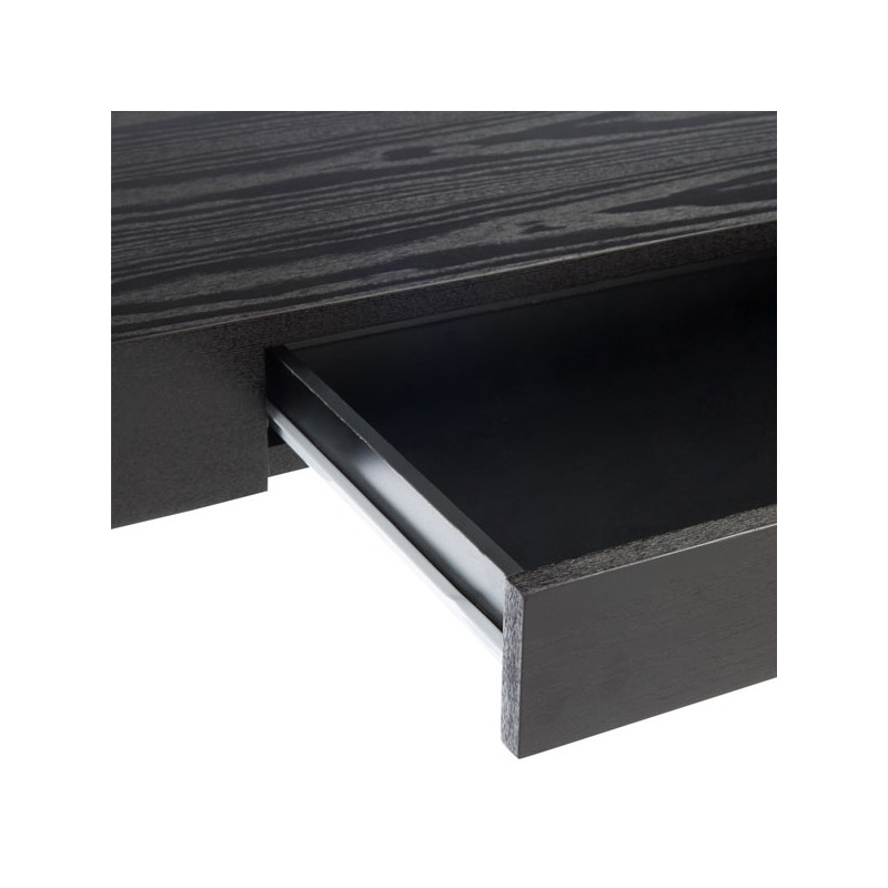 console 1 tiroir bois noir elona univers des petits meubles. Black Bedroom Furniture Sets. Home Design Ideas