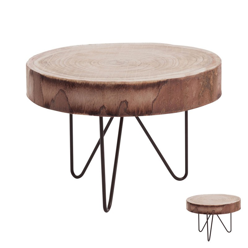 Table Basse Bois Rondin